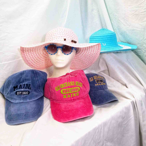 Beach Hats Available at St. Tropez Beach Store