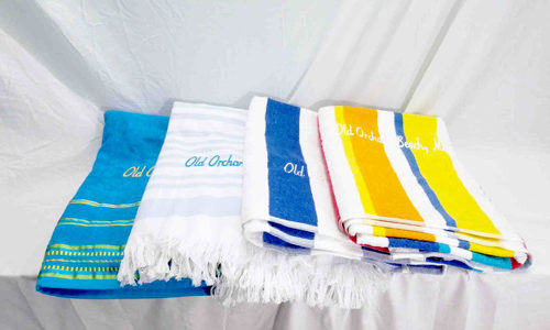 Beach Towels Available at St. Tropez Beach Store