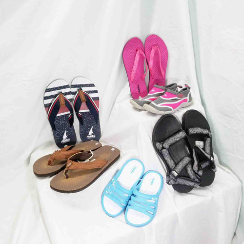 Flip-Flops Available at St. Tropez Beach Store
